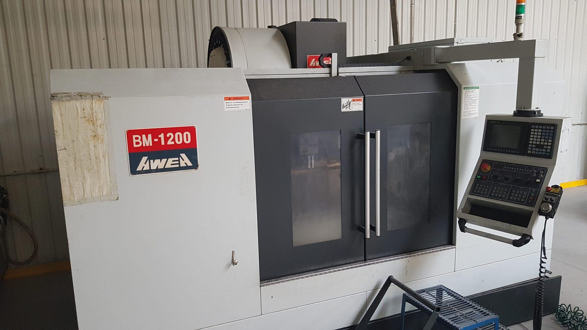 Milling machine AWEA BM-1200